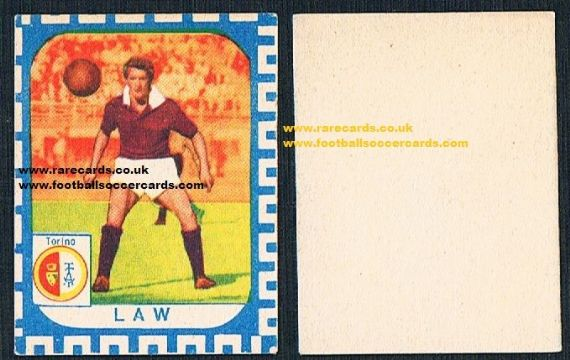 1961 Nannina Denis Law small card
